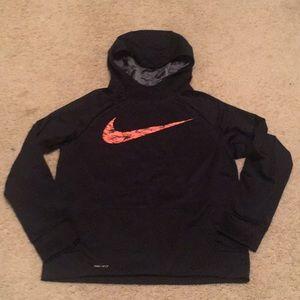 Boys Nike DriFit hoodie. EUC! Warm! XL 10-12.